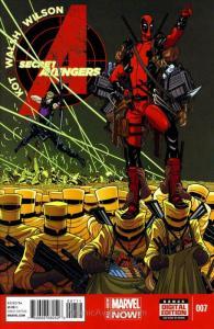 Secret Avengers (3rd Series) #7 FN; Marvel | save on shipping - details inside