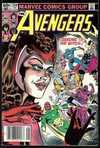 Avengers #293 (Marvel, 1983) VF/NM