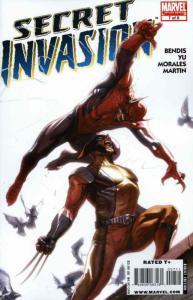 Secret Invasion #7 VF/NM; Marvel   save on shipping - details inside