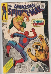 Amazing Spider-Man #57 (Feb-68) NM- High-Grade Spider-Man