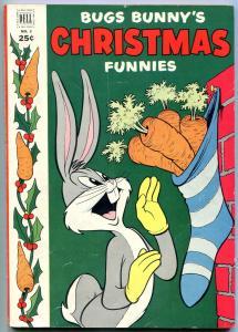 Bugs Bunny's Christmas Funnies #3 1952-DELL GIANT COMICS FN