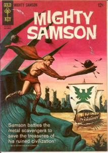 MIGHTY SAMSON 4 VG-F    December 1965 COMICS BOOK