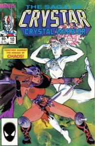 Saga of Crystar: Crystal Warrior #10, VF- (Stock photo)