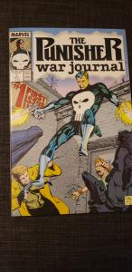Punisher War Journal #1 autographed by Carl Potts