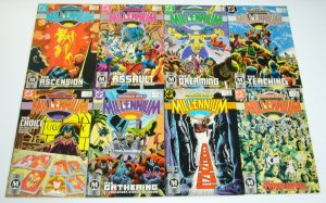 Millennium #1-8 VF/NM complete series STEVE ENGLEHART joe staton set lot 1987 DC