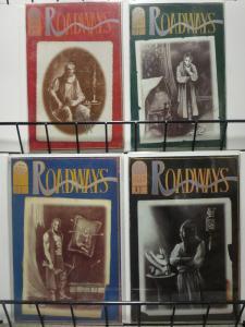 ROADWAYS (1994 CULT PRESS) 1-4 S&A Excellent Read