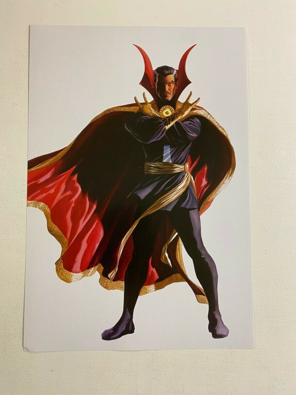 Doctor Strange Marvel Comics poster by Alex Ross