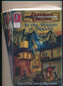 Kenzer & Company LOT of 7-DUNGEONS AND DRAGONS #1-2, #4-8 VF/NM (PF247)