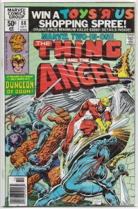 Marvel Two-in-One   vol. 1   # 68 FN Thing, Angel