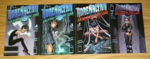 Adrenalynn #1-4 FN/VF complete series - tony daniel's tenth bad girl spin-off