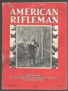 American Rifleman 11/1936-NRA-Loaded with gun info & vintage ads-Historic-G