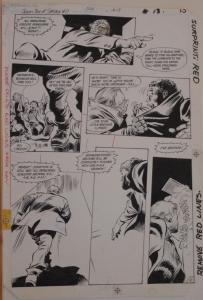 GENE COLAN / BOB McLEOD original art, JEMM SON of SATURN #11 pg 13,11x16, 1985