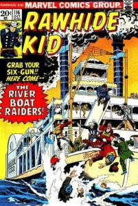 Rawhide Kid (1955 series) #116, VF- (Stock photo)