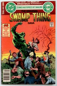 DC Special Series #17 - Original Swamp Thing Saga  FN 6.0  Wrightson cover