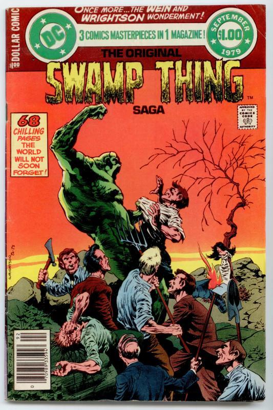 DC Special Series #17 - Original Swamp Thing Saga  FN 6.0  Wrightson cover