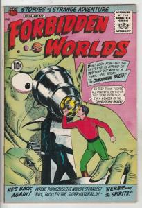 Forbidden Worlds #94 (Dec-61) VF/NM+ High-Grade Herbie Popnecker