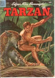 TARZAN 66 VG   March 1955 COMICS BOOK
