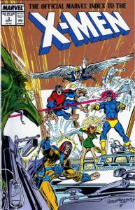 Official Marvel Index to the X-Men #3 VF/NM; Marvel | save on shipping - details