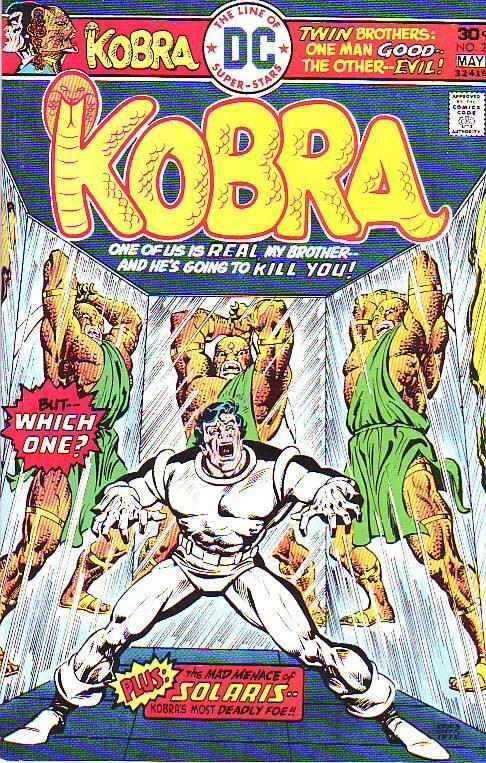Kobra #2 (May-76) NM- High-Grade Kobra