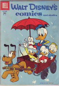 Comics and Stories, Walt Disney's #182 (Nov-55) VG Affordable-Grade Donald Du...