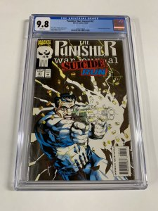 Punisher War Journal 61 Cgc 9.8 White Pages Marvel