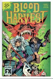 Blood Is The Harvest #1 (Eclipse, 1992) VF/NM