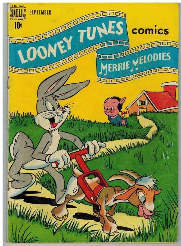LOONEY TUNES 95 G-VG BUGS BUNNY Sept. 1949 COMICS BOOK
