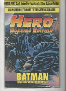 HERO ILLUSTRATED MAGAZINE SPECIAL EDITION # 1 OCTOBER 1993 BATMAN SEALED MINT
