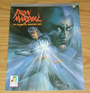 Iron Marshal: An Album of Graphic Art #1 VF jademan comics manga