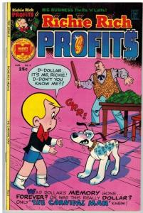 RICHIE RICH PROFITS (1974-1982) 6 VF Aug. 1975 COMICS BOOK