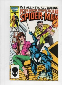 Peter Parker SPECTACULAR SPIDER-MAN #121 VF/NM, Marvel 1976 1986 more in store