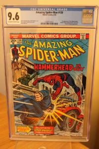 The Amazing Spider-Man #130 (Marvel, 1974) CGC NM+ 9.6 Off-white to white pages