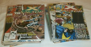 X-Factor V1 #60-107 (missing 6) + Annuals Peter David Stroman comics lot of 45