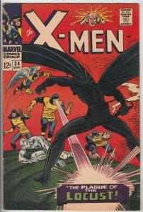X-Men #24 (Sep-66) VF+ High-Grade X-Men