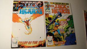 JACK OF HEARTS LIMITED SERIES 2 & 4 *VF/NM 9.0 TO NM 9.4* LOT MARVEL SOLO
