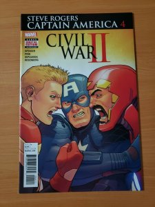 Steve Rogers Captain America #4 ~ NEAR MINT NM ~ 2016 Marvel Comics