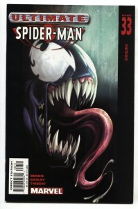 ULTIMATE SPIDER-MAN #33 2003 1st cover Ultimate Venom