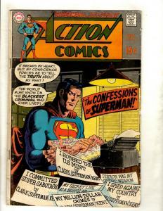 Action Comics # 380 VG DC Comic Book Batman Superman Flash Wonder Woman Atom GK5