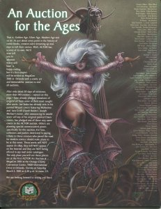 MegaCon Program Book 2001-Steven Hughes cover art-guest & artist bios-VF/NM