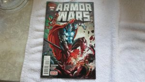 AUG. 2015 MARVEL COMICS ARMOR MARS # 2