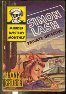 Murder Mystery Monthly #23 1944-Avon-Simon Lash, Private Detective-VG+