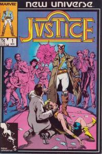 Justice (1986 series) #1, VF (Stock photo)