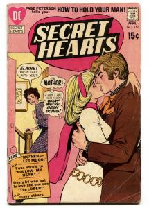 SECRET HEARTS #151 1971-DC ROMANCE -MOTHER LET ME GO!