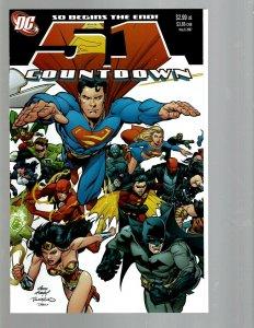 12 DC Comics Countdown # 51 50 48 47 46 45 44 43 42 41 40 39 J438