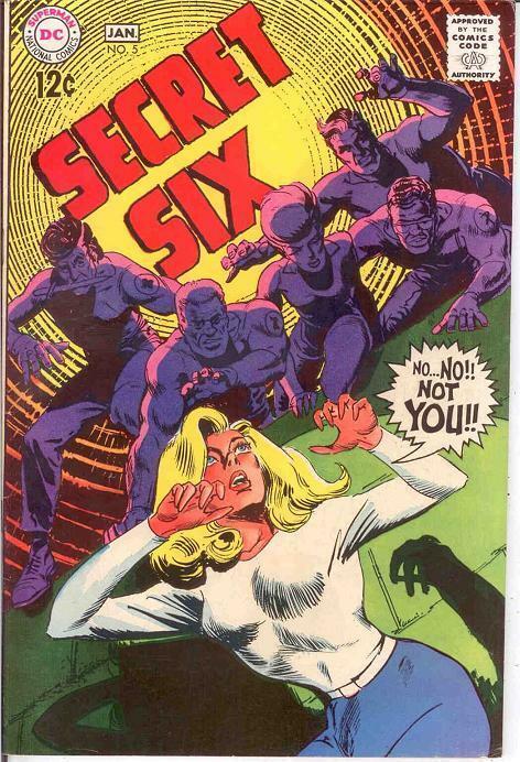 SECRET SIX 5 F+   January 1969 COMICS BOOK