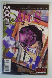 Alias #14 (2002) Marvel 9.2 NM- Comic Book
