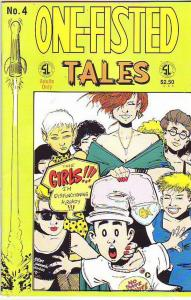 One-Fisted Tails #4 (Jun-91) VF High-Grade