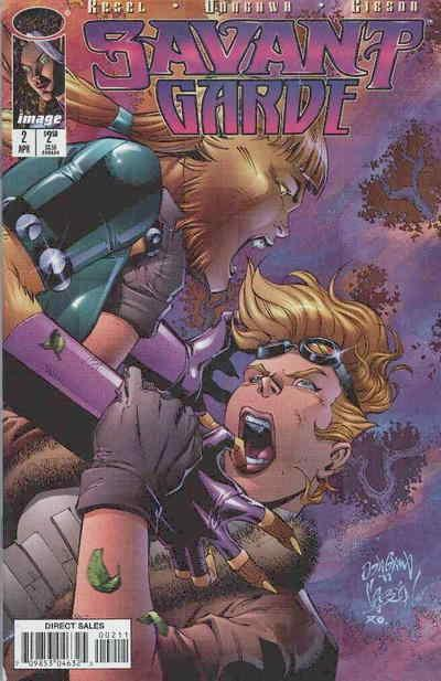 Savant Garde #2 VF/NM; Image | save on shipping - details inside