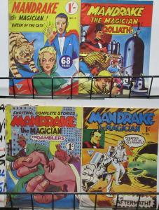 Mandrake the Magician (L. Miller Hackney 1961) #15, 19, 22, 24 Reprints