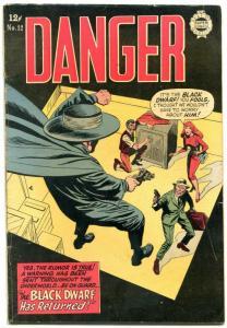 Danger #12 1964-Super Golden Age reprints- Black Dwarf- Nemo VG